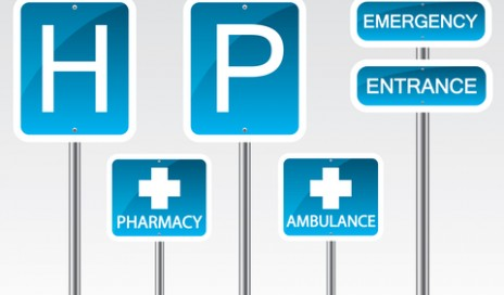 http://www.dreamstime.com/stock-photo-hospital-road-sign-illustration-background-image31636600