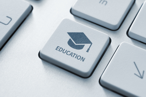 http://www.dreamstime.com/stock-images-online-education-button-graduation-cap-icon-modern-computer-keyboard-concept-image33129254