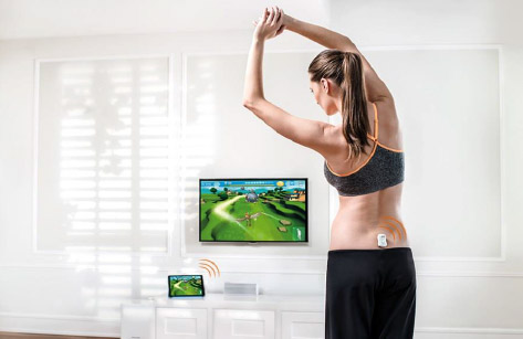Valdeo is designed to provide motivating and game-like back training at home.