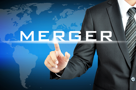 http://www.dreamstime.com/stock-image-businessman-hand-pointing-to-merger-sign-virtual-screen-image49727331