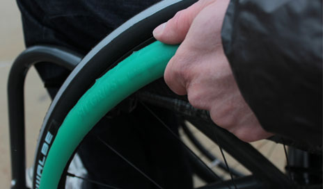 Fit Grips is a new product recently launched by IntelliWheels Inc to aid manual wheelchair users.